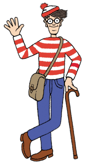 waldo transparent