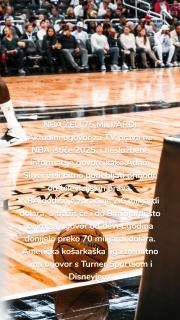 NBA ŽELI 75 MILIJARDI Aktualni ugovor za TV prava na NBA ističe 2025. i neslužbene informacije govore kako Adam Silver želi bitno podebljati prihode od televizijskih prava. NBA godišnje zarađuje 2.6 milijardi dolara, a tražit će i do 8 milijardi što bi im za ugovor od devet godina donijelo preko 70 milijardi dolara. Američka košarkaška liga trenutno ima ugovor s Turner Sportsom i Disneyjem.